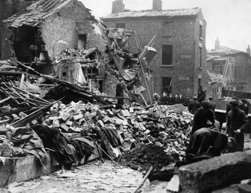 the blitz in liverpool