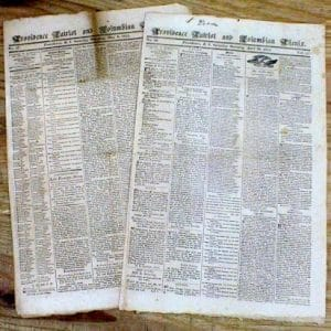 Napoleonic Era Newspaper Collection