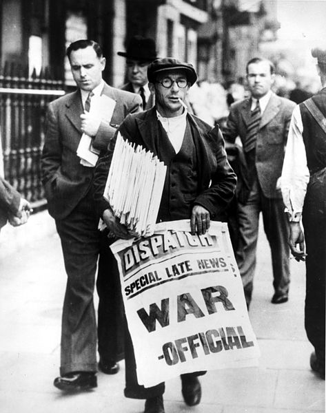 Paper Rationing During World War II