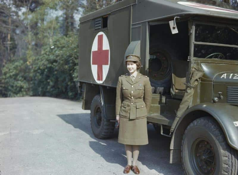 Elizabeth in the Auxiliary