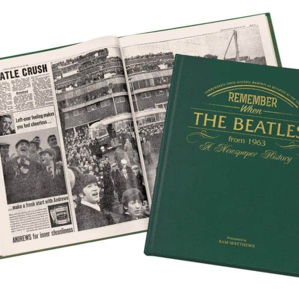 Beatles Newspaper Book