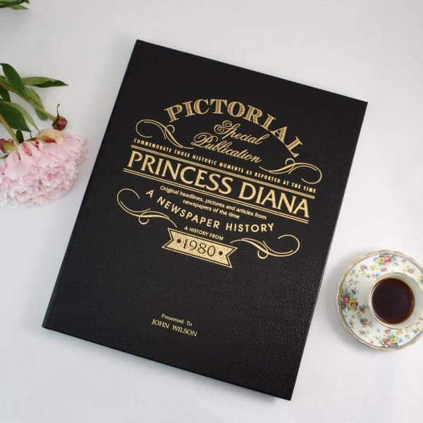 Diana Newspaper Book