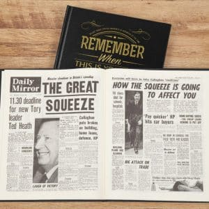 This is your life Newspaper Book