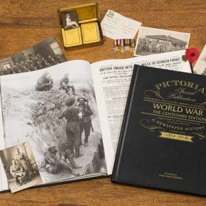 WW1 Centenary Newspaper Book