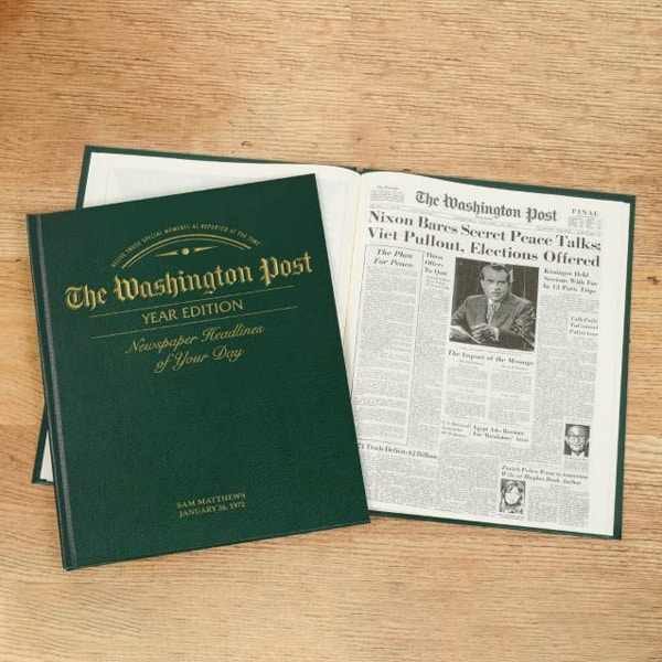 Year Edition Newspaper Book