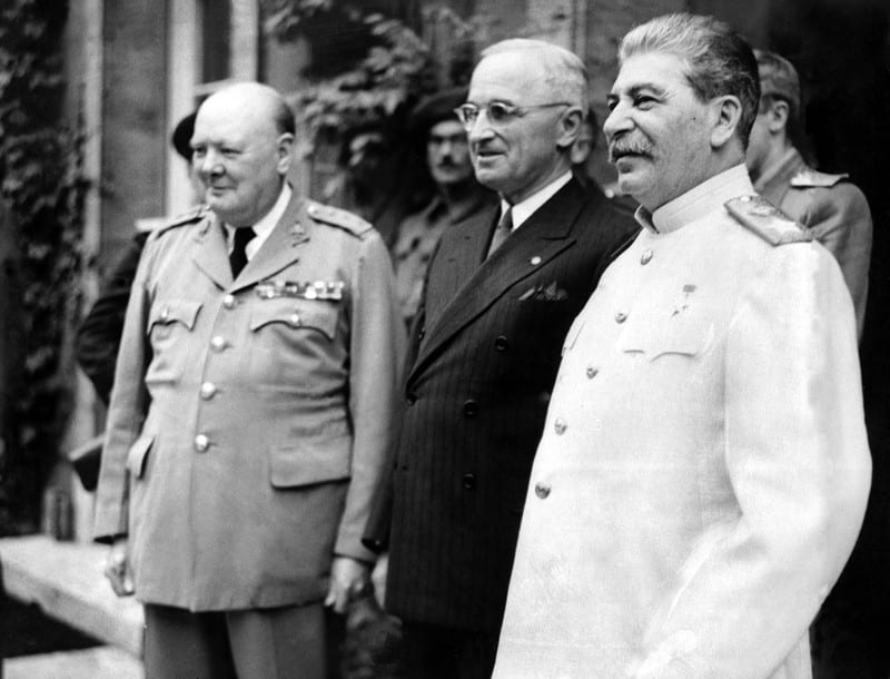 stalin truman and churchill