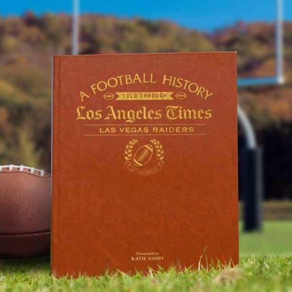 raiders newspaper book