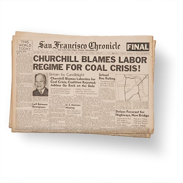 1939 Newspapers