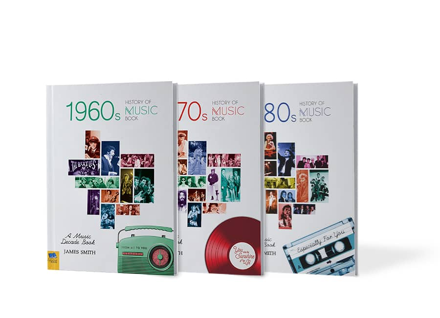 History of music decade books