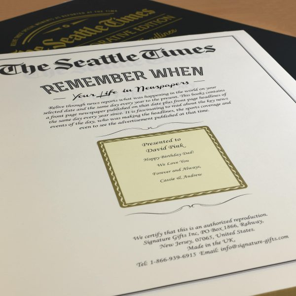 seattle times book
