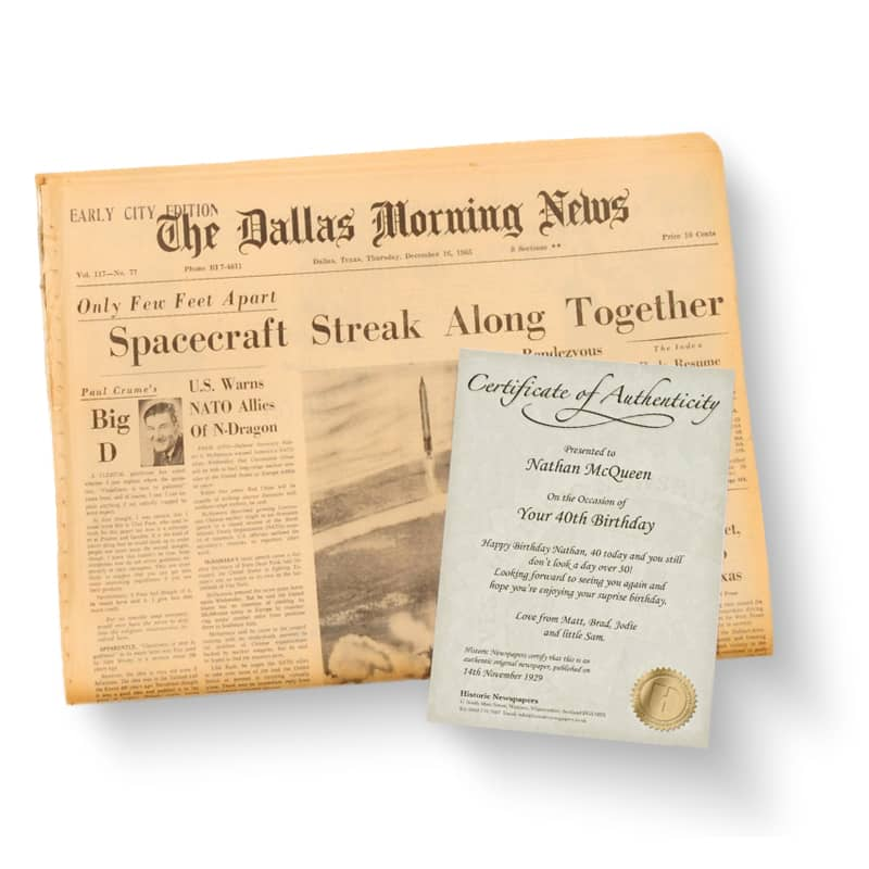 Dallas Morning News Gifts