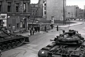 1961 Checkpoint charlie standoff