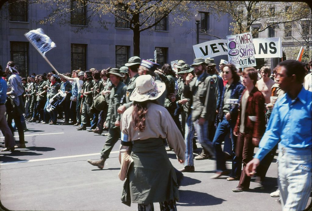 vietnam war protest