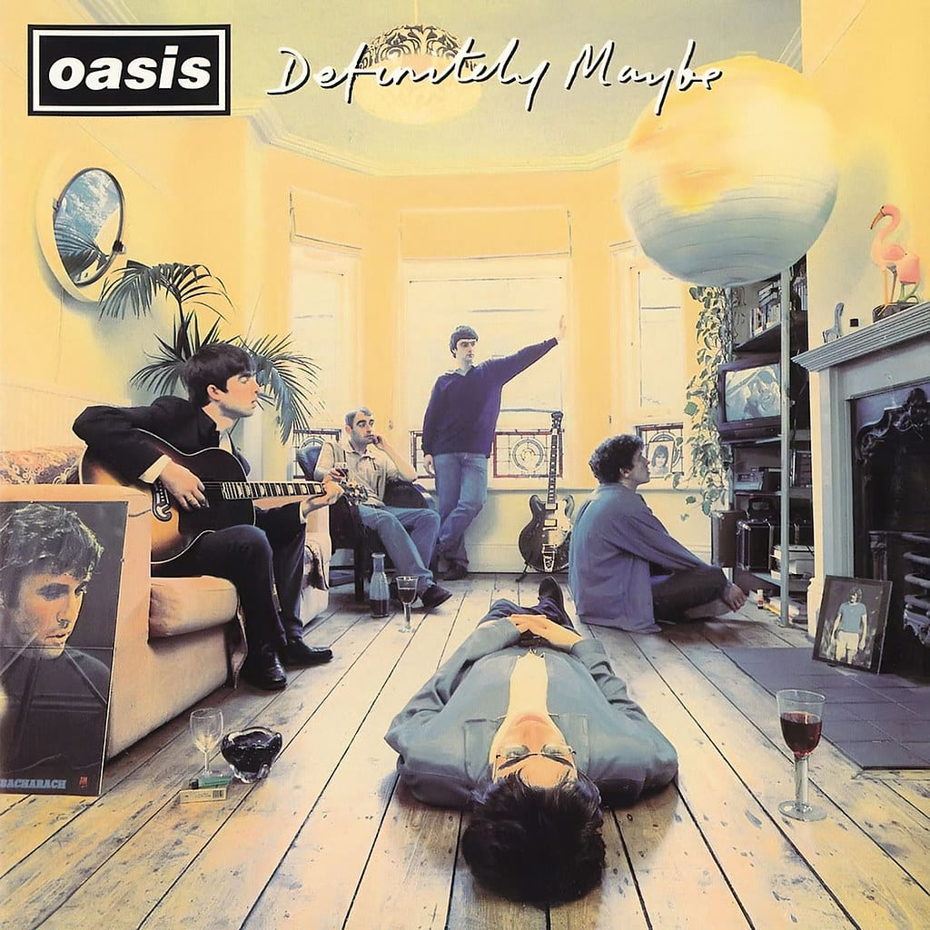 oasis album definitely maybe