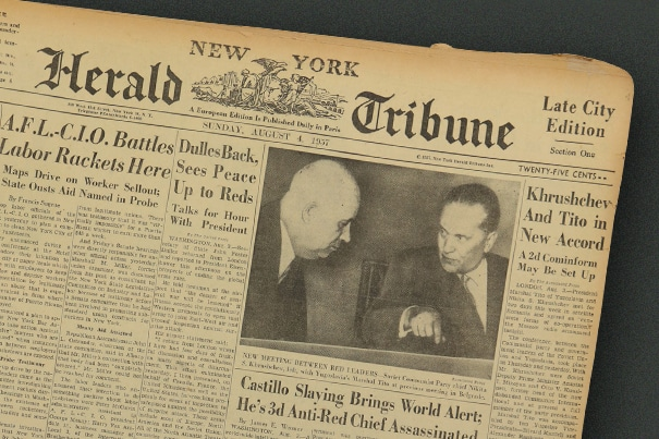New York Herald Tribune Archive
