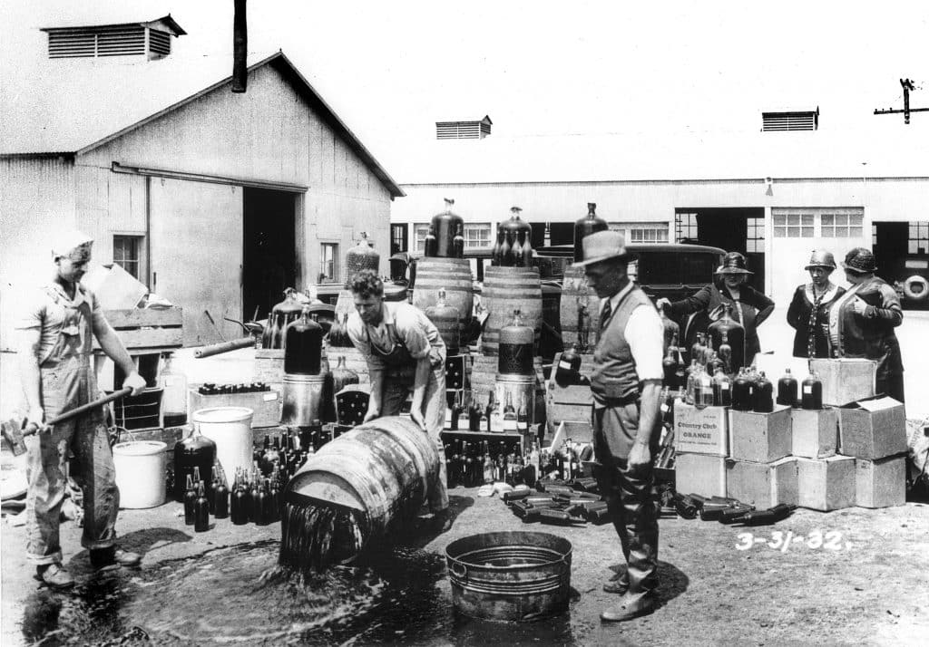 prohibition in the 1920s