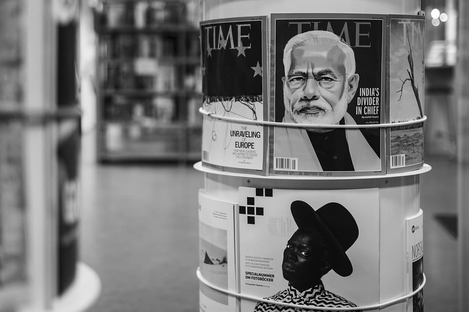 time magazine stand