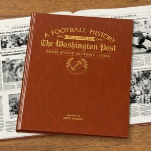 Penn State Nittany Lions Newspaper Book