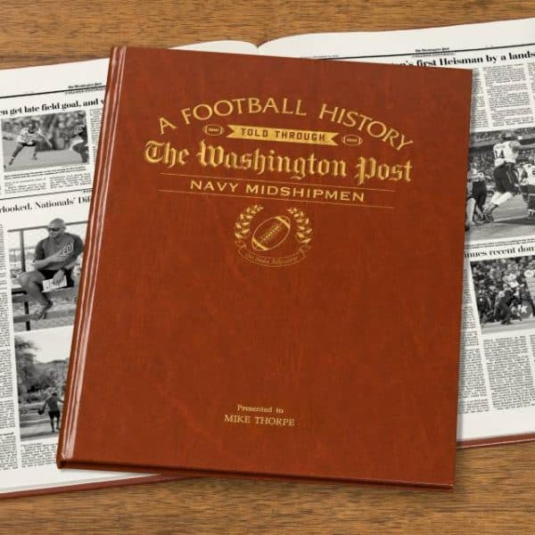 Navy Midshipmen Newspaper Book