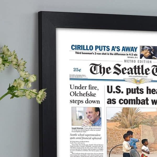 seattle times reprint front page