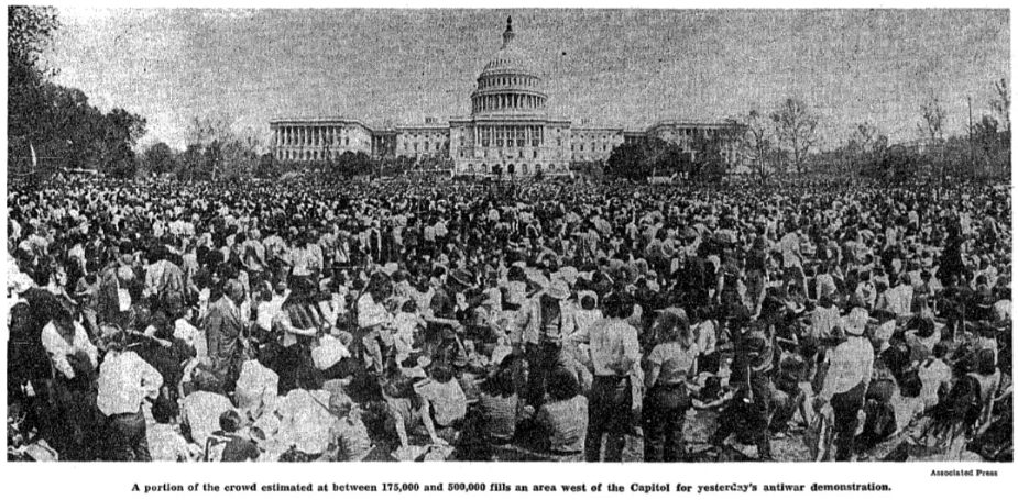 anti vietnam war demonstrations