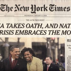 history of the new york times